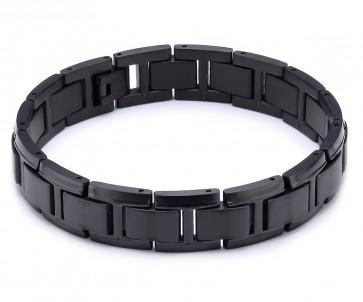 Bracelet titane noir