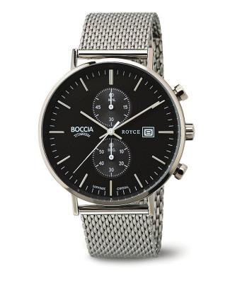 Montre chronographe Titane et Acier