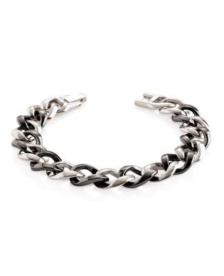 bracelet titane et céramique